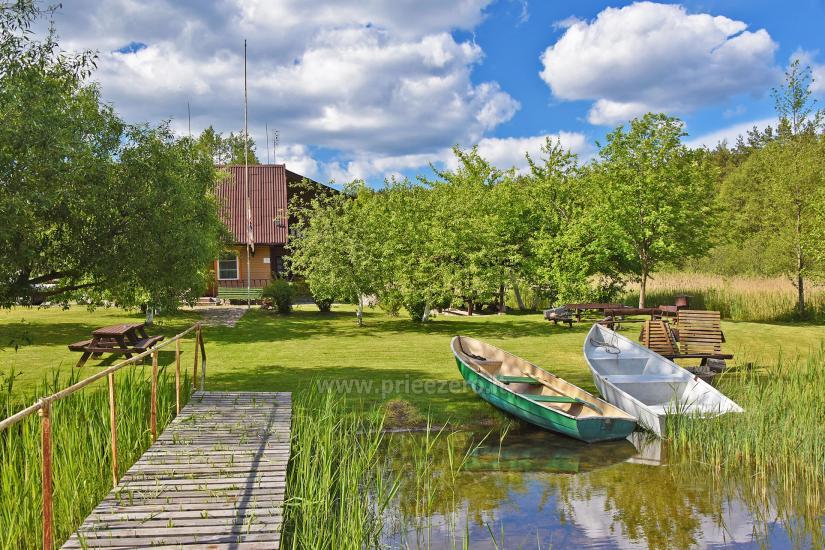 Sēta ar Ignalinos zonā, pie ezera Gaidelių sodyba - 3