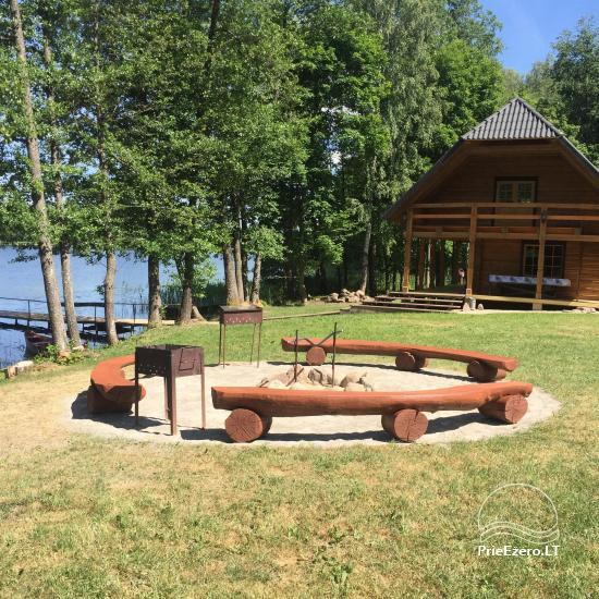 Lauku māja pie ezera - 1