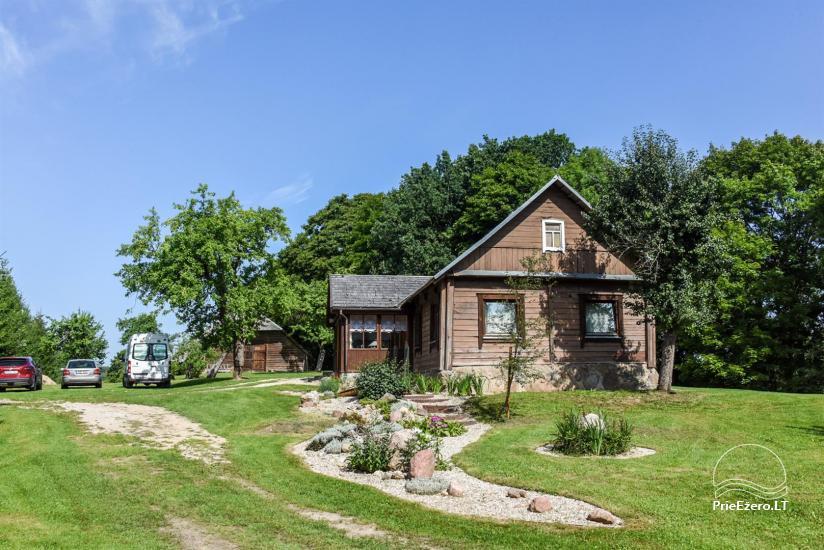 Lauku māja pie ezera - 19