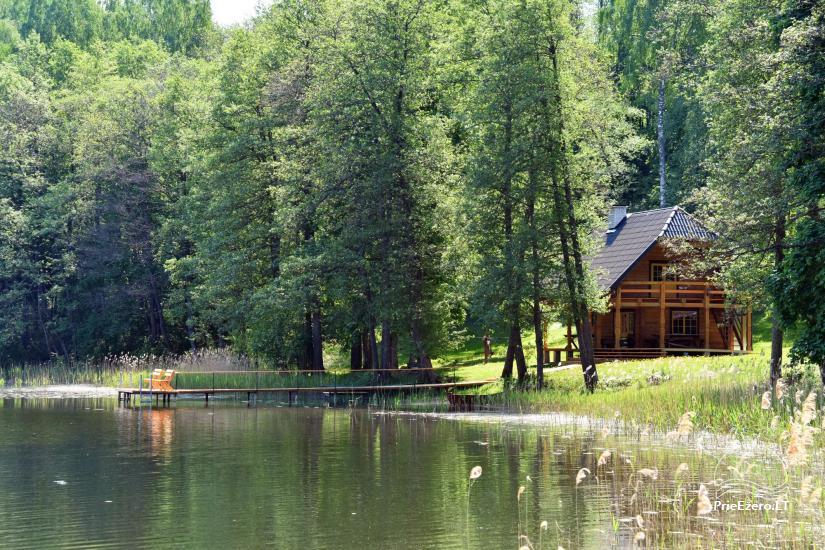 Lauku māja pie ezera - 12