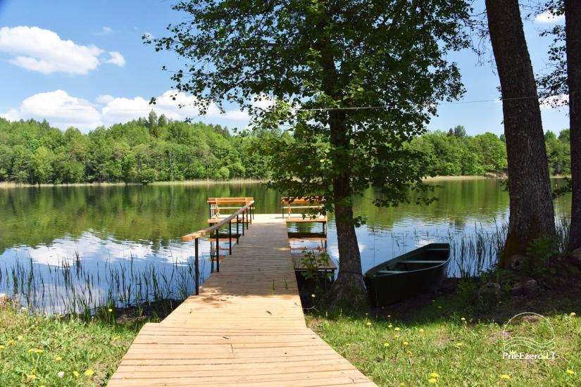 Lauku māja pie ezera - 16