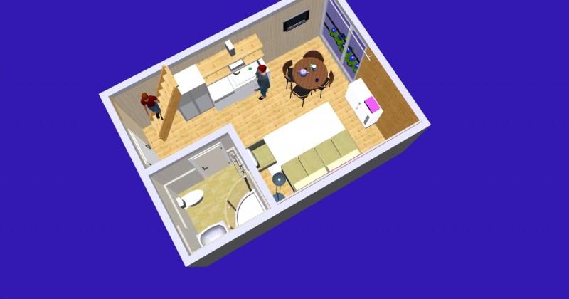 Istabu ire Sventoji villa Medeina - 15