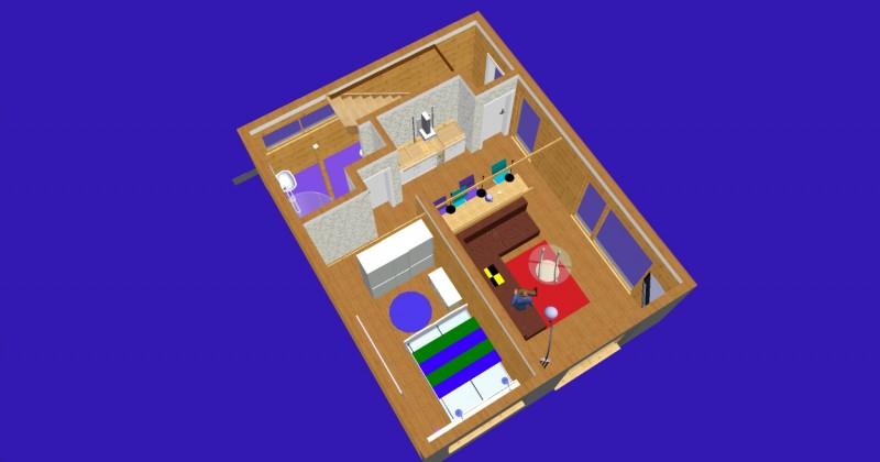 Istabu ire Sventoji villa Medeina - 31