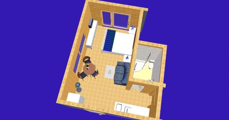 Istabu ire Sventoji villa Medeina - 37