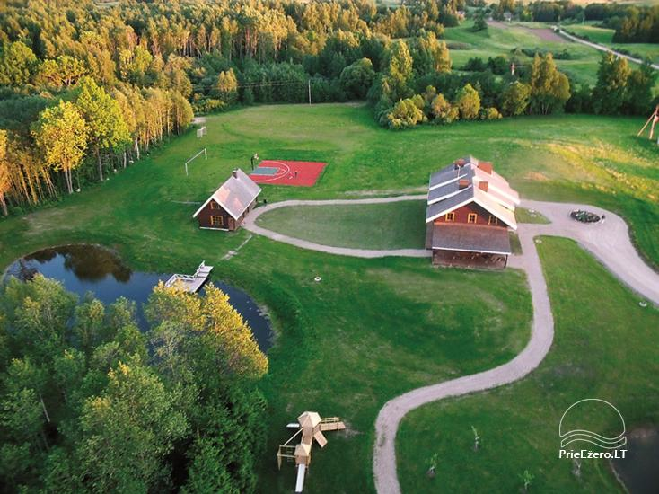 Seta Moletai rajona Marguoliai – Brīvdienu mājas ezera krastā - 3