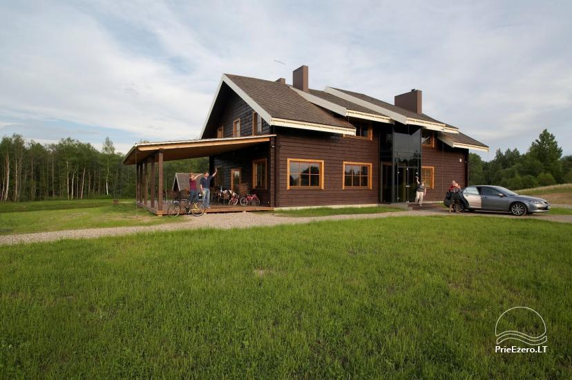 Seta Moletai rajona Marguoliai – Brīvdienu mājas ezera krastā - 1