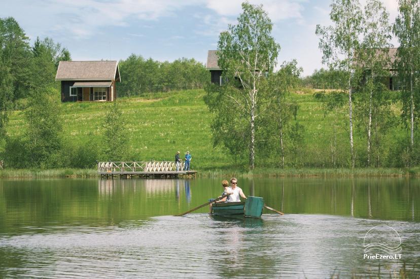 Seta Moletai rajona Marguoliai – Brīvdienu mājas ezera krastā - 14