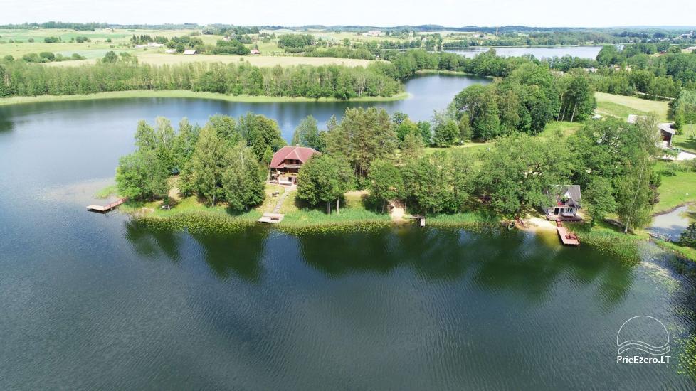 Brīvdienu mājas īre pie ezera Pakalas - 1