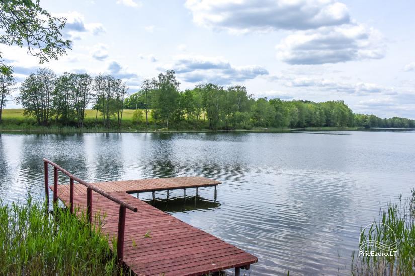 Brīvdienu mājas īre pie ezera Pakalas - 6