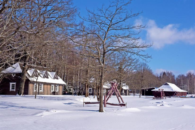 Brīvdienu parks Telšių rajonā ezera krastā Lūkstas Rest Park - 32