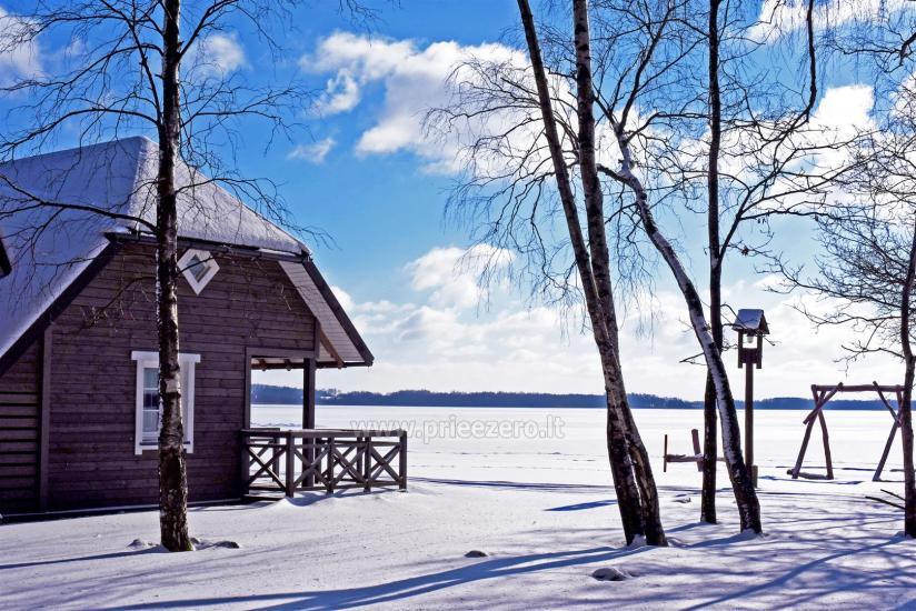 Brīvdienu parks Telšių rajonā ezera krastā Lūkstas Rest Park - 33