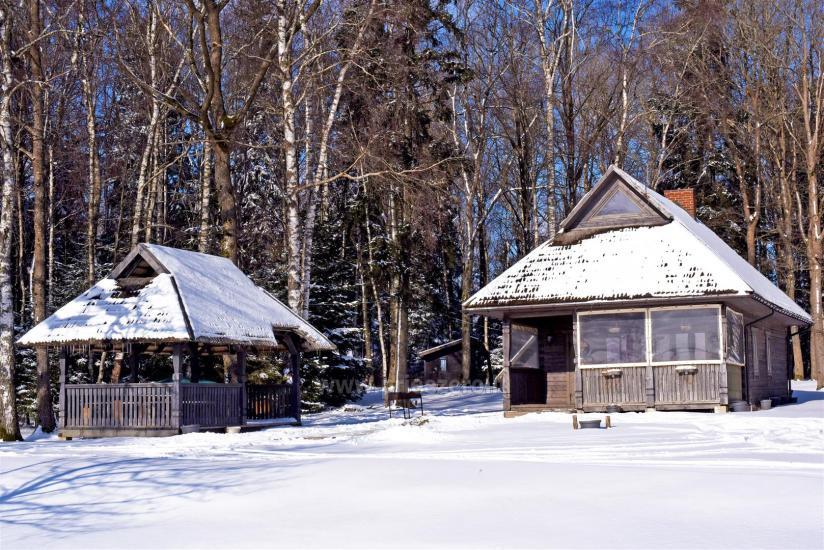 Brīvdienu parks Telšių rajonā ezera krastā Lūkstas Rest Park - 34