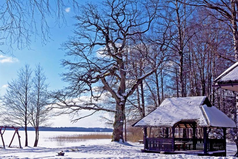 Brīvdienu parks Telšių rajonā ezera krastā Lūkstas Rest Park - 35