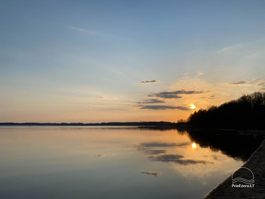 Brīvdienu parks Telšių rajonā ezera krastā Lūkstas Rest Park - 7