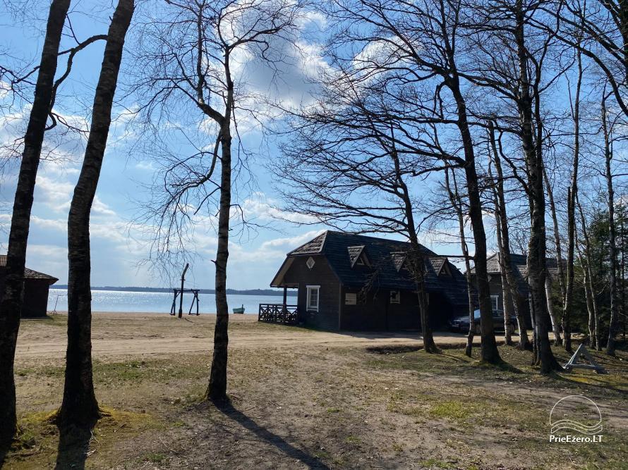 Brīvdienu parks Telšių rajonā ezera krastā Lūkstas Rest Park - 12