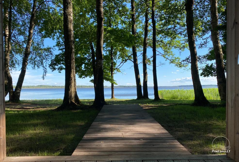 Brīvdienu parks Telšių rajonā ezera krastā Lūkstas Rest Park - 3