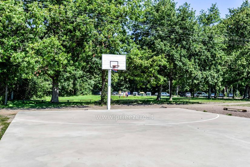 Brīvdienu parks Telšių rajonā ezera krastā Lūkstas Rest Park - 24