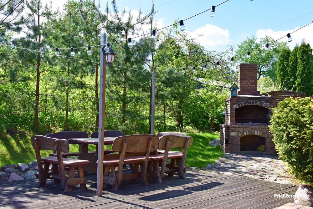 Villa atpūtai un svinībām - Spa Villa Trakai: zāle, džakuzi un sauna, izmitināšana - 10