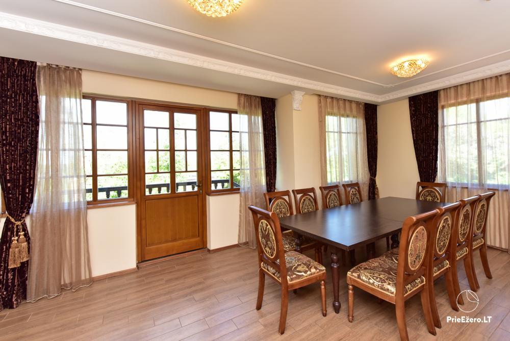 Villa atpūtai un svinībām - Spa Villa Trakai: zāle, džakuzi un sauna, izmitināšana - 20