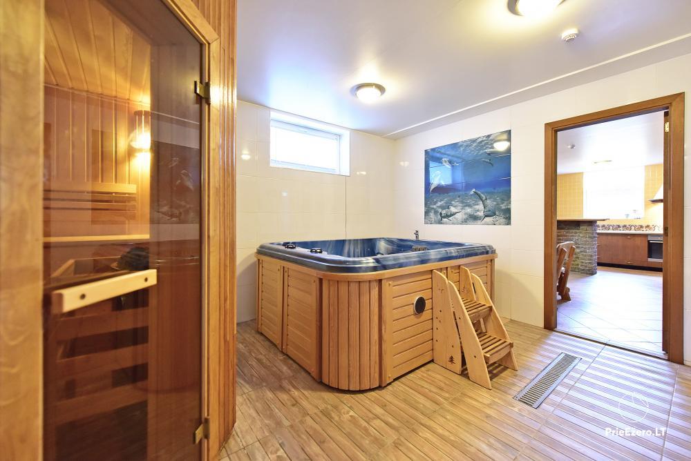 Villa atpūtai un svinībām - Spa Villa Trakai: zāle, džakuzi un sauna, izmitināšana - 47