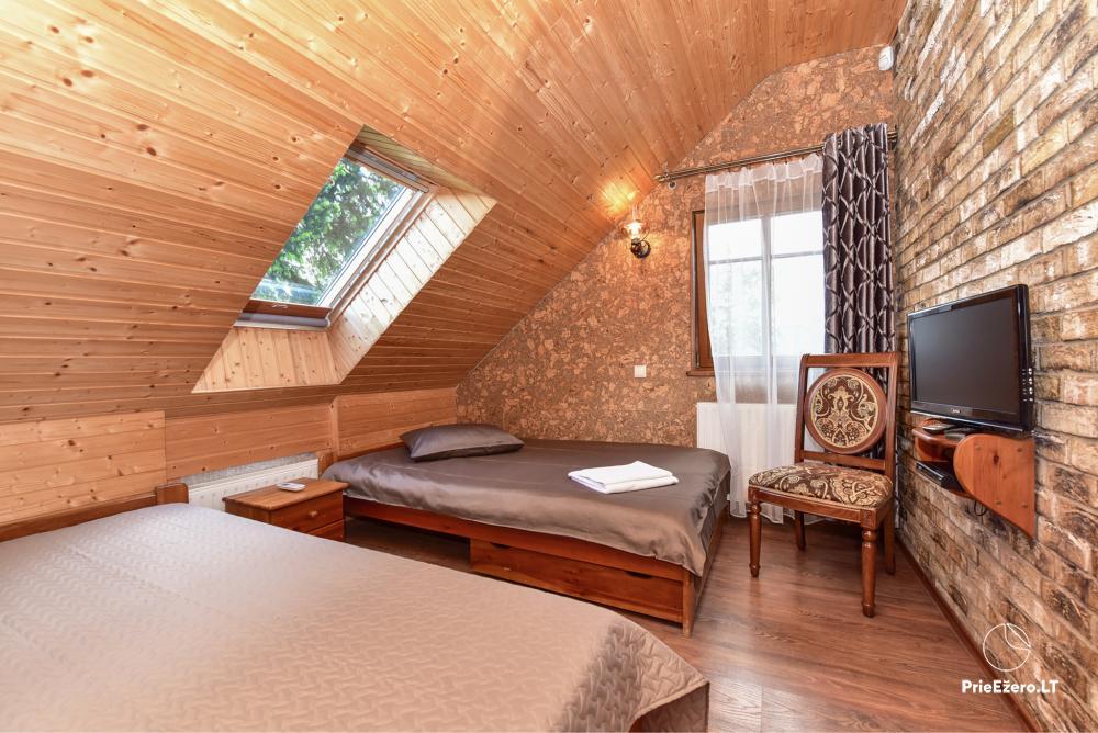 Villa atpūtai un svinībām - Spa Villa Trakai: zāle, džakuzi un sauna, izmitināšana - 32
