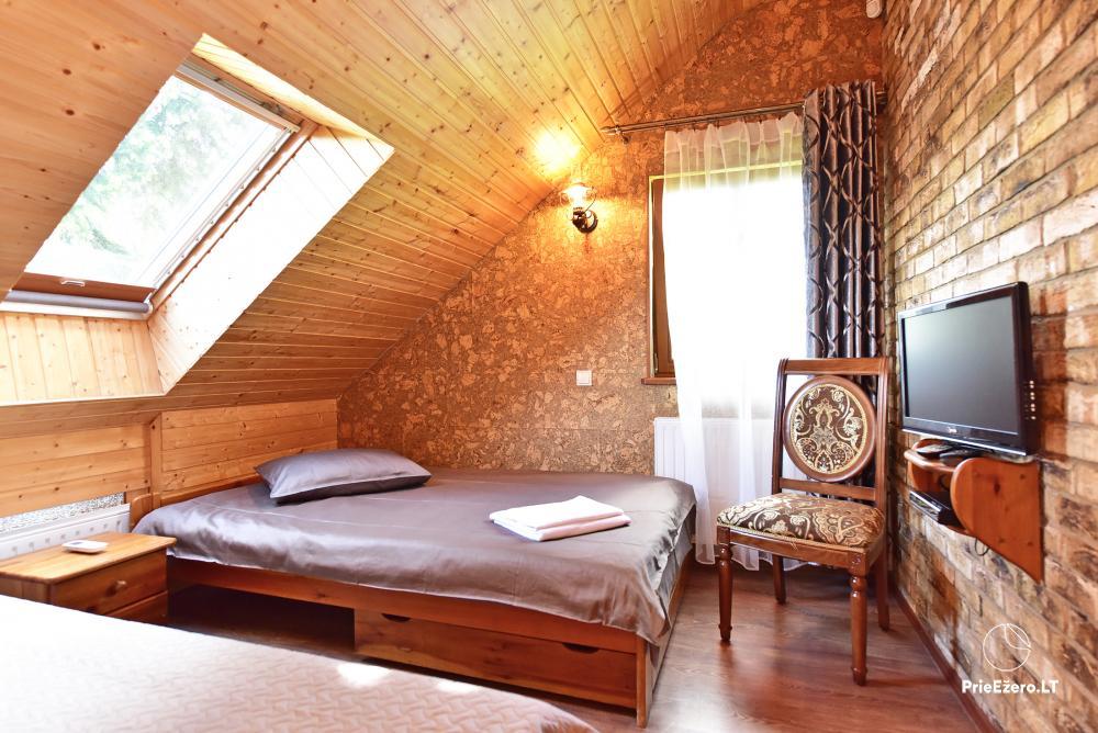 Villa atpūtai un svinībām - Spa Villa Trakai: zāle, džakuzi un sauna, izmitināšana - 35