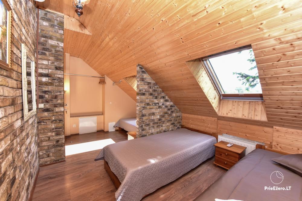 Villa atpūtai un svinībām - Spa Villa Trakai: zāle, džakuzi un sauna, izmitināšana - 33