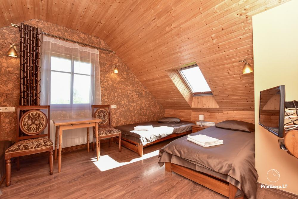 Villa atpūtai un svinībām - Spa Villa Trakai: zāle, džakuzi un sauna, izmitināšana - 26