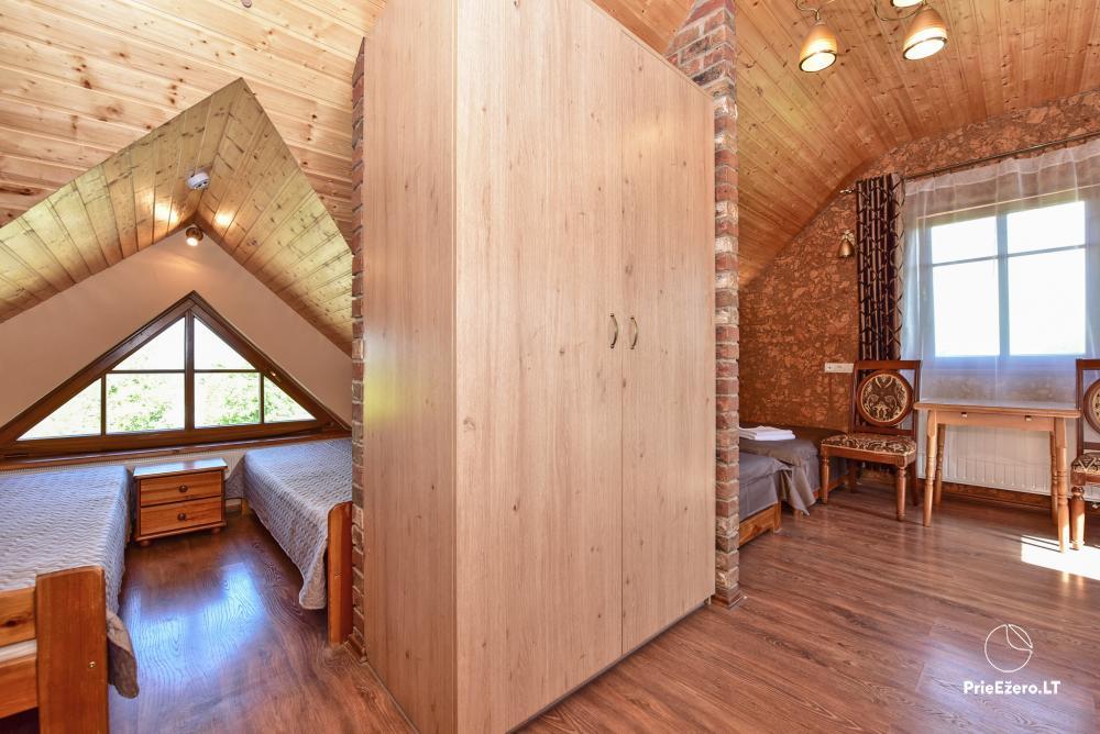 Villa atpūtai un svinībām - Spa Villa Trakai: zāle, džakuzi un sauna, izmitināšana - 27