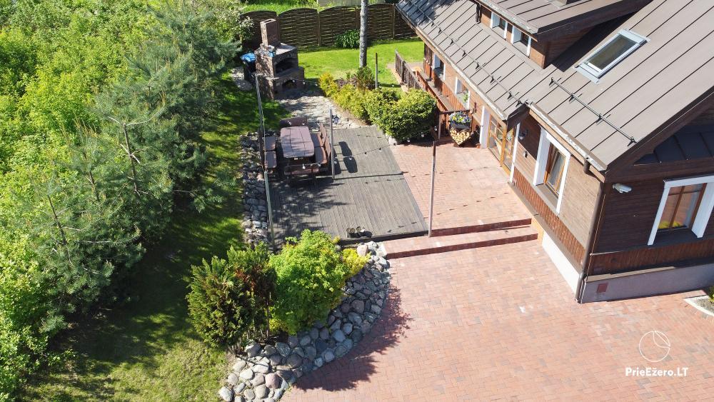 Villa atpūtai un svinībām - Spa Villa Trakai: zāle, džakuzi un sauna, izmitināšana - 8