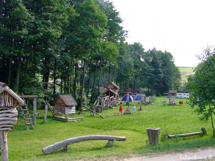 Lauku seta Žališkė pie ezera Babrai, jo Lazdijai jomā - 1