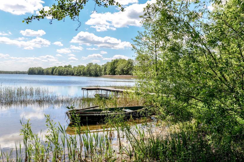 Lauku seta Žališkė pie ezera Babrai, jo Lazdijai jomā - 16