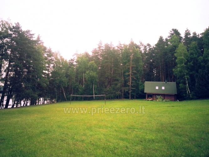 Sēta - telšu vietas un brīvdienu mājiņas Molētu rajonā pie ezera Siesartis - 8