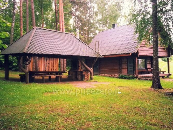 Sēta - telšu vietas un brīvdienu mājiņas Molētu rajonā pie ezera Siesartis - 1
