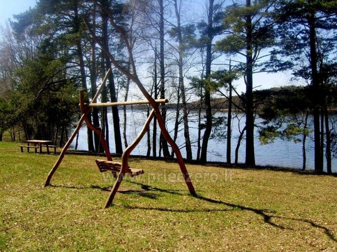 Sēta - telšu vietas un brīvdienu mājiņas Molētu rajonā pie ezera Siesartis - 11