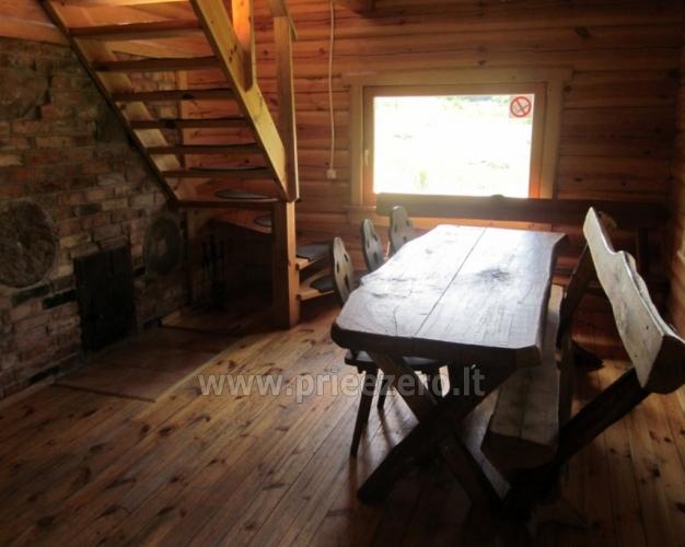 Sēta - telšu vietas un brīvdienu mājiņas Molētu rajonā pie ezera Siesartis - 5