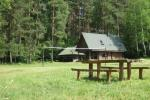 Sēta - telšu vietas un brīvdienu mājiņas Molētu rajonā pie ezera Siesartis - 7