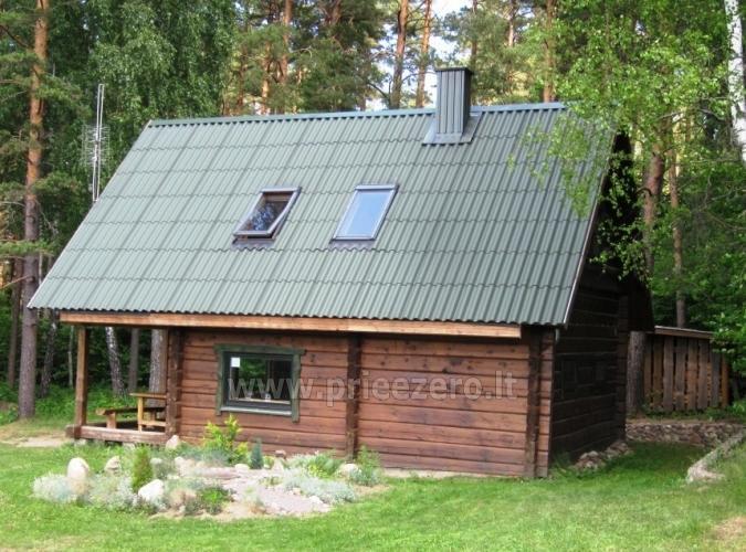 Sēta - telšu vietas un brīvdienu mājiņas Molētu rajonā pie ezera Siesartis - 6