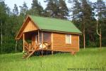 Sēta - telšu vietas un brīvdienu mājiņas Molētu rajonā pie ezera Siesartis - 9