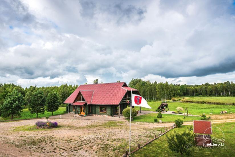 Atpūta Lietuva, Lauku seta Minavuonė Telsu rajona pie ezera - 11
