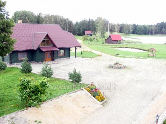 Atpūta Lietuva, Lauku seta Minavuonė Telsu rajona pie ezera - 1