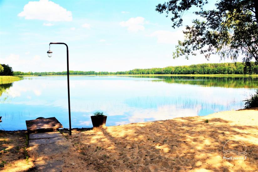 Viensēta pie ezera, kas Lazdijai jomā Tėviškė - 19