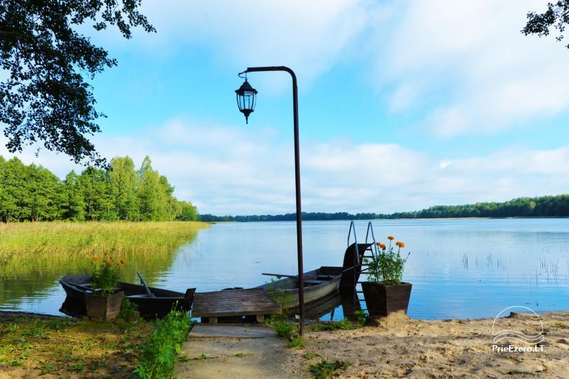 Viensēta pie ezera, kas Lazdijai jomā Tėviškė - 26