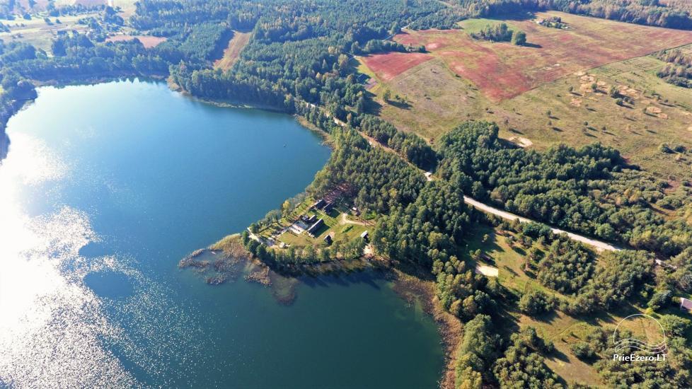 Viensēta pie ezera, kas Lazdijai jomā Tėviškė - 5