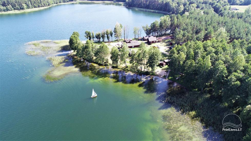Viensēta pie ezera, kas Lazdijai jomā Tėviškė - 7