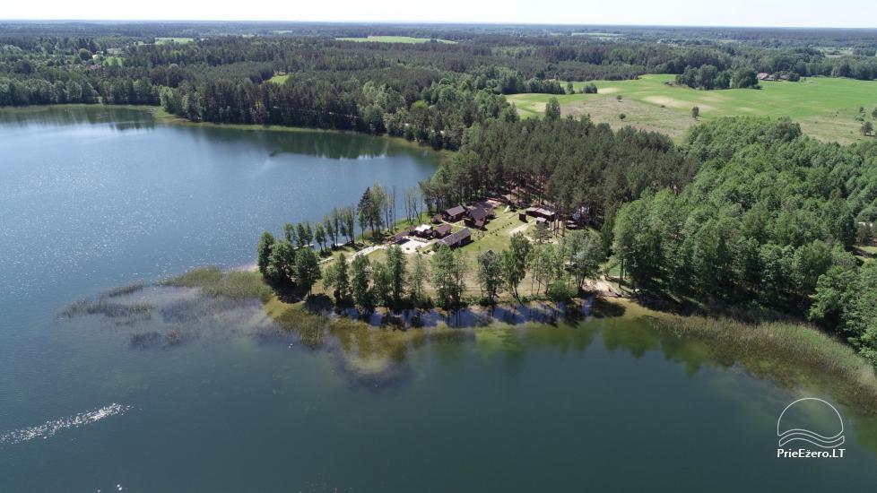 Viensēta pie ezera, kas Lazdijai jomā Tėviškė - 9