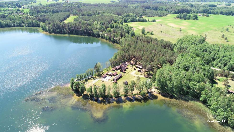 Viensēta pie ezera, kas Lazdijai jomā Tėviškė - 1