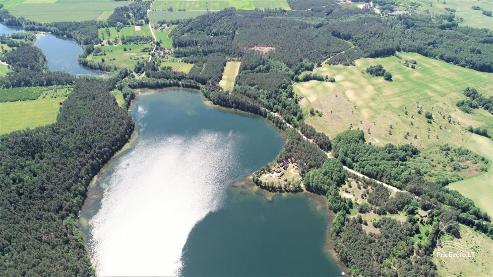 Viensēta pie ezera, kas Lazdijai jomā Tėviškė - 2