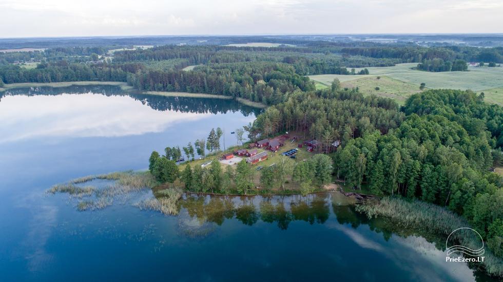 Viensēta pie ezera, kas Lazdijai jomā Tėviškė - 6