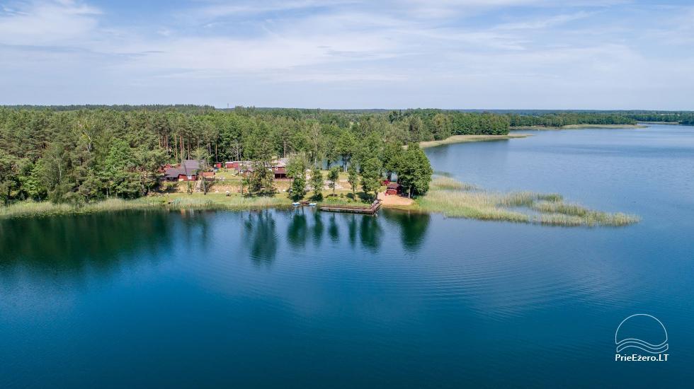 Viensēta pie ezera, kas Lazdijai jomā Tėviškė - 8